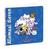 Boek cover Woezel & Pip  -   Allemaal dieren van Guusje Nederhorst (Hardcover)