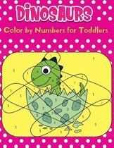 dinosaurs Color by Numbers for Toddlers