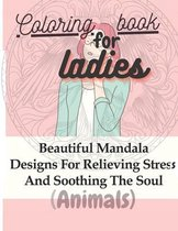 Coloring book for ladies