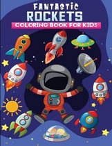 Fantastic rockets coloring book for kids