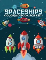 spaceships coloring book for kids
