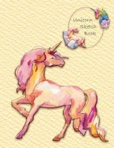 Unicorn Sketch Book