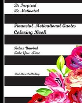 Financial Motivational Quotes Coloring Book