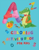Coloring Activity Book for Kids