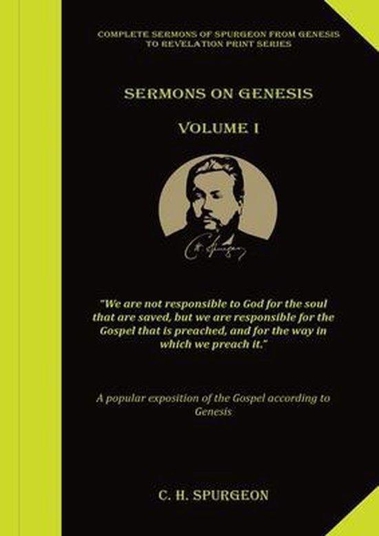 Boek cover Sermons on Genesis Volume 1 van Charles Spurgeon