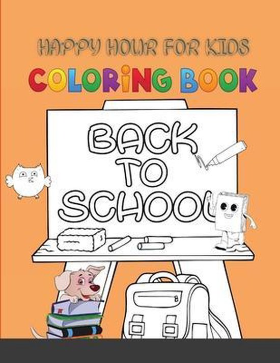 Happy Hour for kids Coloring Book