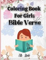 Coloring Book For Girls Bible Verse