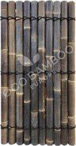 Black Bamboe tuinscherm, schutting, afrastering  180x90 cm