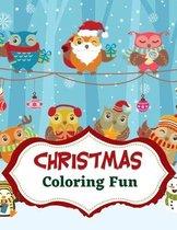 Christmas Coloring Fun Book