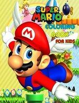 Super Mario Coloring Book For Kids