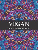 Vegan Adult Coloring Book