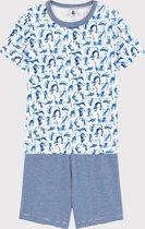 Petit Bateau Kinder Jongens Pyjamaset - Maat 104
