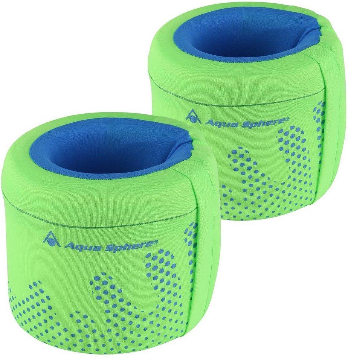Aqua Sphere Arm Floats - Zwembandjes - 2-3 jaar (15-18kg) - Groen/Lichtblauw