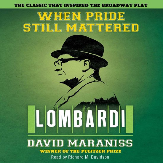 Boek cover When Pride Still Mattered van David Maraniss (Onbekend)