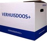 Verhuisdozen - 5 stuks - 57 Liter - KlikKlak Verhuisdoos - Zelfsluitend - Geen tape nodig - Autolock