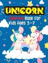 Unicorn Coloring Book For Kids Ages 3-7