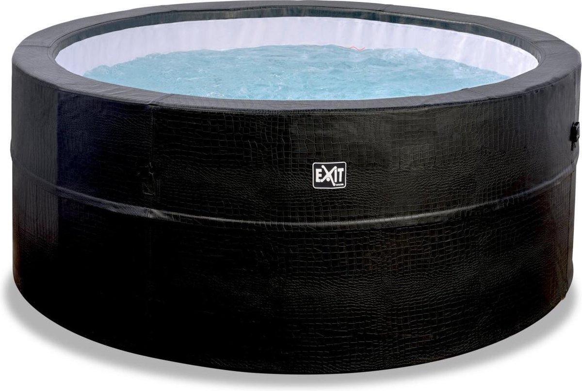 EXIT Leather Premium spa ø184x73cm - zwart