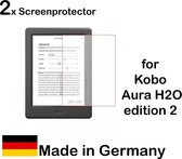 Screenprotector Kobo Aura H2O Edition 2 - 2 stuks - Made in Germany