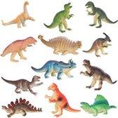 Set van 12 stoere Dino's, Dinosaurussen, Dinosaurus