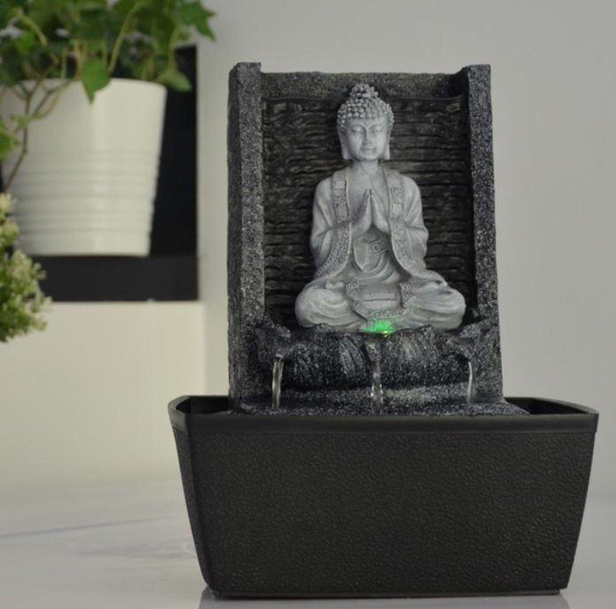 Nirvana - fontein -interieur - fontein voor binnen - relaxeer - zen - waterornament - cadeau - geschenk - relatiegeschenk - origineel - lente - zomer - lentecollectie - zomercollectie - afkoeling - koelte