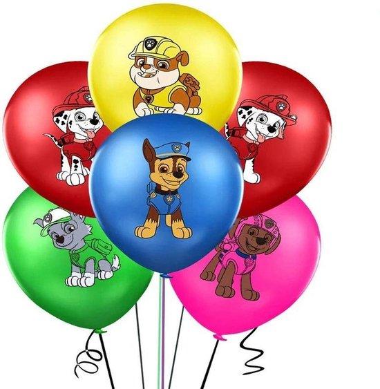Paw patrol ballonnen - 10 stuks - Paw patrol versiering verjaardag - Paw patrol feestartikelen - Paw patrol versiering - Paw patrol feestdecoratie