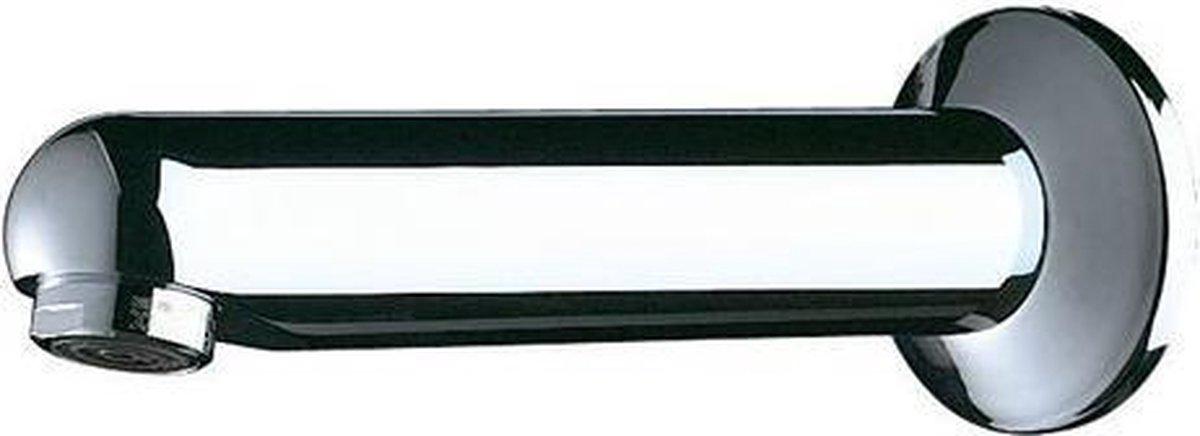Vaste uitl vr TC165mm M1/2 L.120 Ø32 regelb. straalbreker