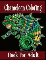 Chameleon Coloring Book For Adult
