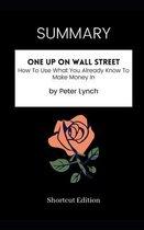 SUMMARY - One Up On Wall Street