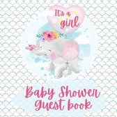 It's a Girl Shower Baby Guest Book