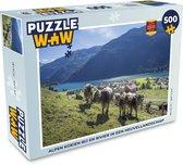 Puzzel Alpen koe 500 stukjes