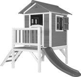 AXI Beach Lodge XL Speelhuis Grijs - Grijze Glijbaan