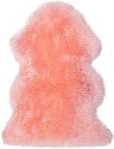 Schapenvacht - baby roze (Australisch)
