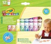 Crayola Mini Kids - 12 Viltstiften met bolle punt