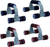 Dunlop Opdruksteun voor Push Ups - 2 sets van 2 - Kracht - Fitness - Spieren