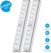 Kastverlichting met bewegingssensor (2-PACK) LED Kast Verlichting - Keukenverlichting LED