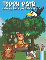 Teddy Bear Coloring Books For Toddlers