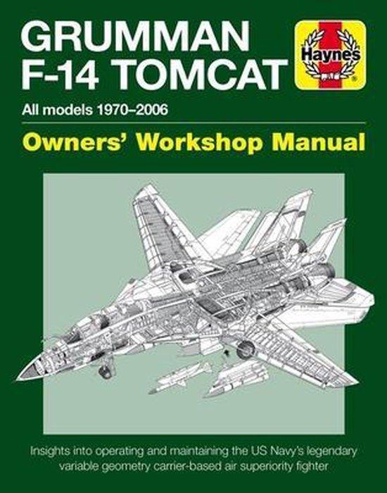 Boek cover Grumman F-14 Tomcat Owners Workshop Manual van Tony Holmes (Hardcover)