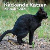 Kackende Katzen Kalender 2021