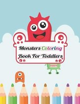 Monsters Coloring Book For Toddlers