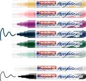 edding- Acrylic Marker starter set Nordic 8 ST 1-2/2-3mm / 4-SES8N (02-21)