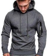 Grijze Hoodie heren met capuchon - Light Sport Sweater - Maat XXL