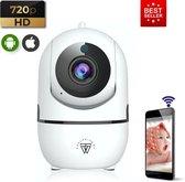 HD Wifi Babyfoon met Camera – Bewakingscamera – 720p - NL iOS/Android App – Wit