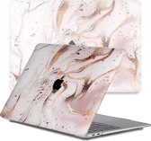 Lunso - cover hoes - MacBook Pro 13 inch (2016-2019) - Marble Vera