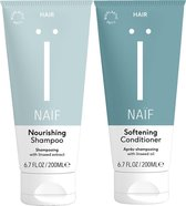 Bundel Naïf natuurlijke Shampoo & Conditioner - 2 x 200ml