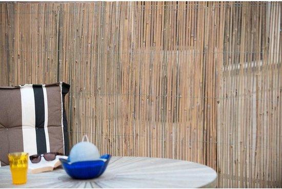 Nature Tuinscherm 1x5 m bamboe