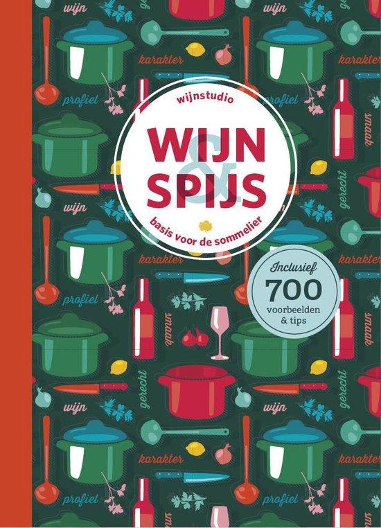 Boek cover Wijnboek - Wijn en Spijs - Basis voor de Sommelier van Jeroen Bronkhorst (Hardcover)
