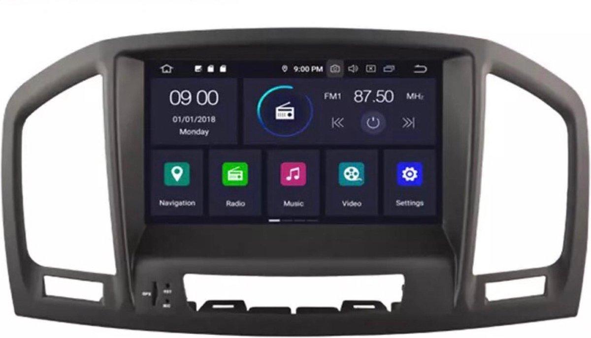 Opel Insignia 2008-2011 Android 9 navigatie en multimediasysteem 2+16GB
