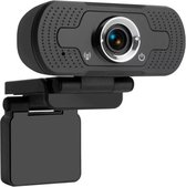 Webcam HD  voor PC - met Microfoon -Webcam - met USB - Full HD 1080P - Camera - Thuiswerken - voor Windows en Mac