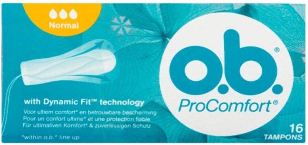 OB Tampons - Procomfort Normaal 16 stuks