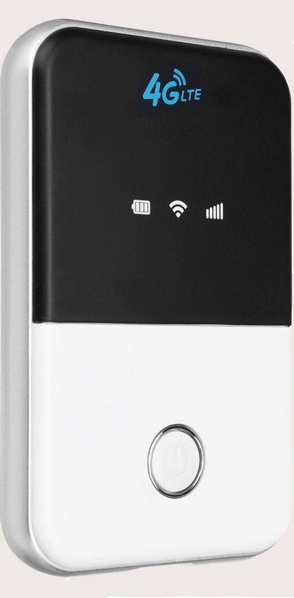 Wifi Buddy - Wifi op elke locatie (Mifi router, Ingebouwde accu, Hotspot, 4g...